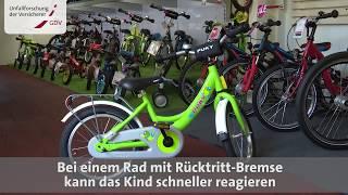 Video Film Kinder lernen Radfahren: Das erste Fahrrad