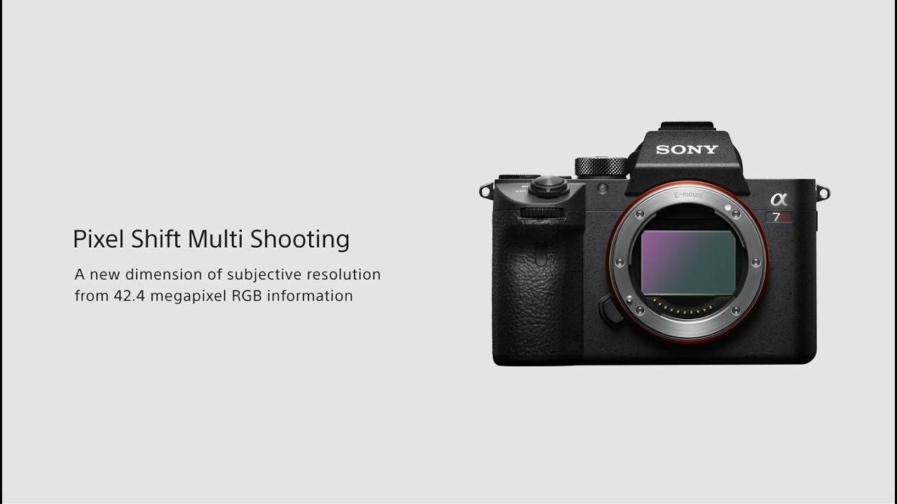 Sony a7R III Camera Body Only