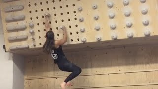 How to do pegboard climbing