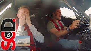 GUY MARTIN drives Ferrari FXX   Reaction video