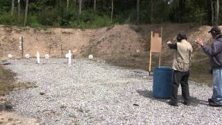 preview picture of video 'Ridgway Rifle Range IDPA September 15, 2013 Stage 1'