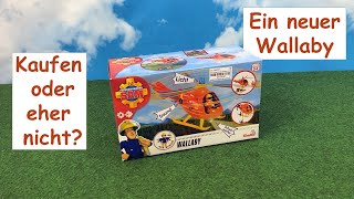Review - Feuerwehrmann Sam Hubschrauber Wallaby - Simba 109251077