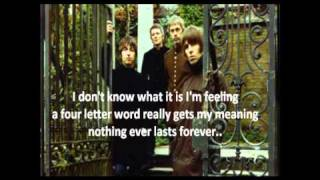Beady Eye - Four Letter Word (Lyrics)