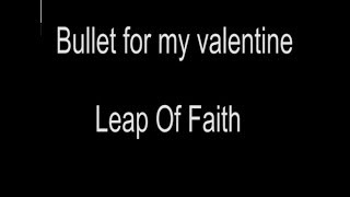 Bullet For My Valentine Over It Lyrics Video