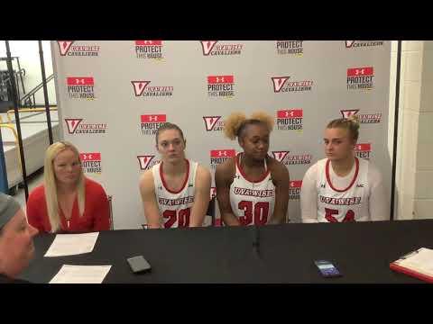 Women's Basketball Postgame vs Lees-McRae