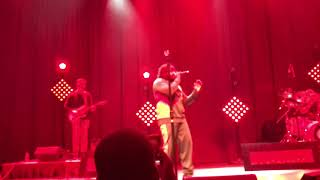 """Xavier Omar """"Grown Woman"""" live at the Fillmore 12-2-17"""