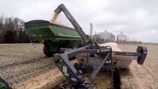 Unloading the Grain Bags/Shenanigan stunt