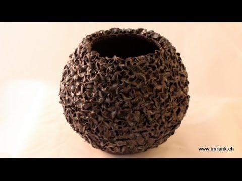 Keramik Kugelvase