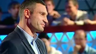 Киселев и Кличко говорят по-английски