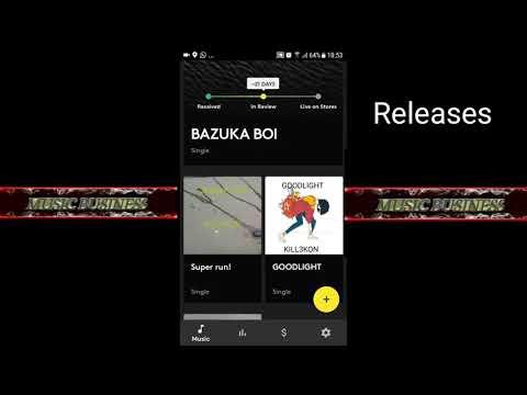 Amuse Music Distribution app review