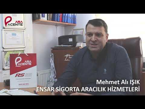 Ensar Sigorta Aracılık Hizmetleri ( İTO Sigortacılık Meslek Komitesi Üyesi ) Mehmet Ali IŞIK