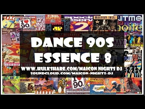 DANCE 90s ESSENCE Vol.8 (1993/1996)(Eurodance/Euro House) [MIX by MAICON NIGHTS DJ]