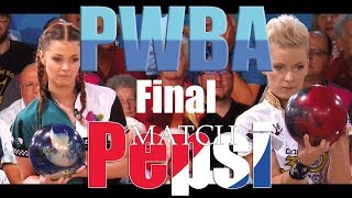 2018 Bowling - 2018 PWBA Pepsi St. Petersburg Clearwater Open Final Daria Pajak VS. Diana Zavjalova