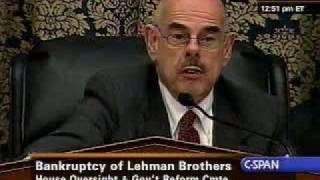 Waxman: I have a basic question for you. Is this fair?