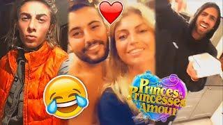 LES PRINCES DE L'AMOUR 6 : les CANDIDATS sur le TOURNAGE ! (Dylan, Anthony, Fidji, Elsa, ...)