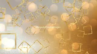 birthday celebration background video loops | Free happy birthday golden background video download