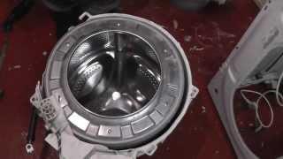 Indesit Washing Machine dismantling(Bearings issue problem)