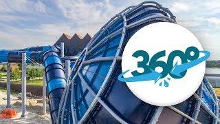 [360° VR] Neue Wasserrutschen im Hof van Saksen in Virtual Reality