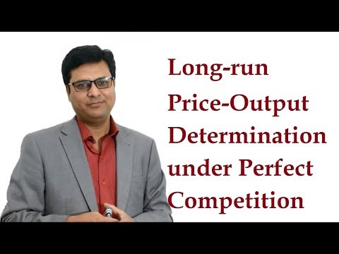 Download Long Run Equilibrium under Perfect Competition in
