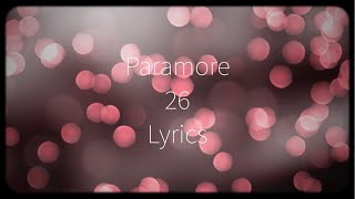 26 paramore lyrics - TH-Clip