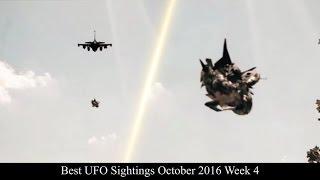 Best UFO Sightings October 2016 Week 4