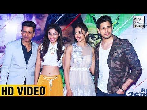 Aiyaary  Trailer Launch FULL VIDEO   Sidharth Malh