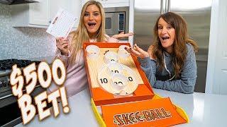 $500 KITCHEN SKEE-BALL BET!