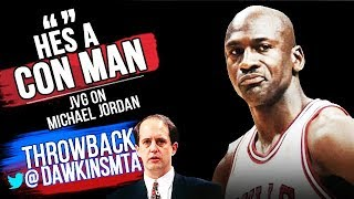 "Michael Jordan Famous ""Con Man"" Revenge game On Jeff Van Gundy and The Knicks - 51 Pts!"