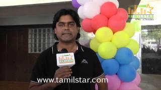 Ganesh Raghavendra at Beedi Movie Audio Launch
