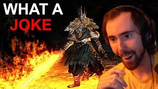 Asmongold Does The IMPOSSIBLE And BEATS DARK SOULS - Day 11