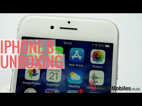 iPhone 8 unboxing video | Direct Mobiles