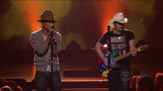 16 Pharrell Williams and Brad Paisley   Here Comes The Sun