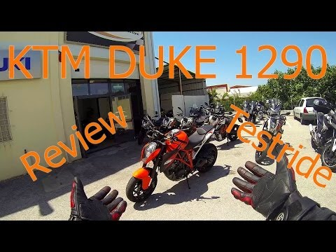 KTM 1290 Super Duke R Testdrive & Review