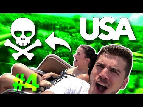 Pravá tvár AMERICKÝCH zábavných parkov! - TRUMPOTY #4