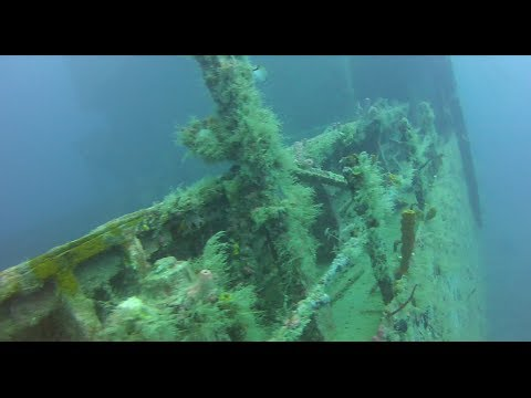 Diving on the wreck St George Bayahibe La Altagracia Dominican