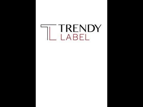 "TRENDY LABEL - Tunic / Tunika ""ORANGE ZENITH"""