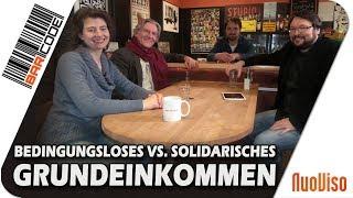 """""""Solidarisches Grundeinkommen"""": Hartz4 im neuen Gewand – #BarCode mit Ralph Boes & Diana Aman"""