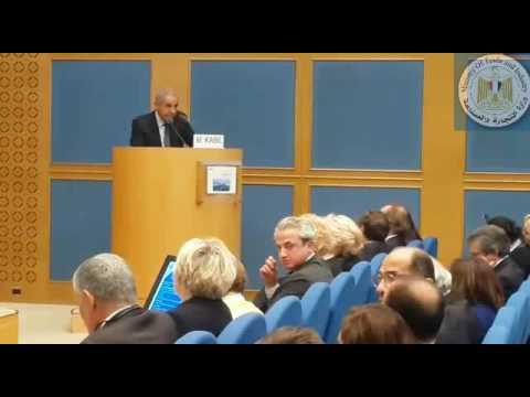 كلمة الوزير/طارق قابيل خلال الندوة التى نظمتها وكالة الاعمال الفرنسية بالتعاون مع مجلس الشيوخ بباريس