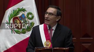 Peru: Martin Vizcarra inaugurated as new President of Peru
