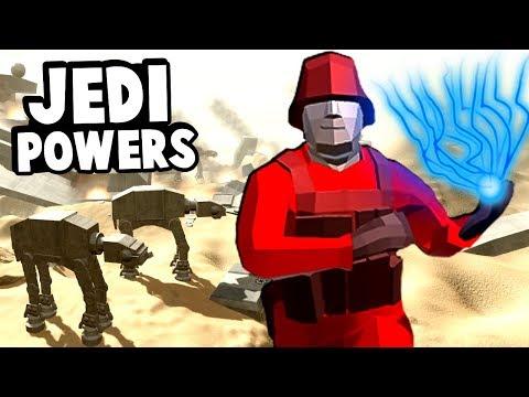 Using Jedi Powers to Win The Battle of Jakku in Ravenfield Star Wars