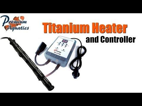 Finnex Titanium Aquarium Heater and Controller