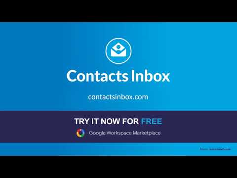 Contacts Inbox - Compact CRM add-on for Gmail (promo)