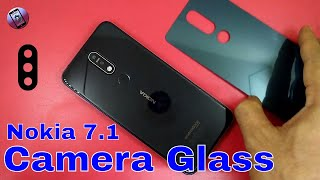 Nokia 7.1 Rear Camera Lens With Back Glass Protector