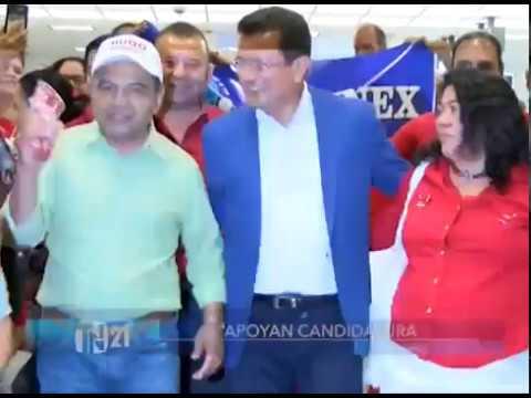 Tras ser cancelados como partido PSD brinda respaldo a Hugo Martínez del FMLN