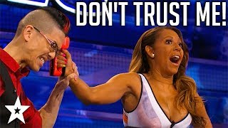 Magician Has A Dangerous Task For Mel B on America