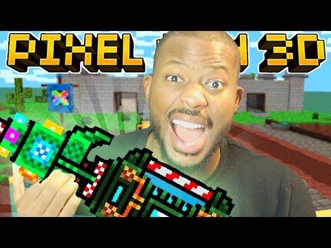 TIME FOR SIEGE DESTRUCTION! | Pixel Gun 3D