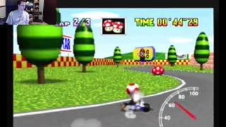 "SgtRaven - Mario Kart 64 Mario Raceway 3 Lap PAL 1'30""23 (NTSC: 1'22""32)"