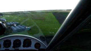 preview picture of video 'overhead join and landing at I nce blundell microlight airfield'