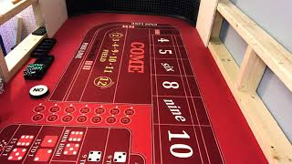 Playing for the 7 craps strategy