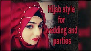 Requested Hijab Style For Weddings || Hijab Style 2018 || Islamic Fashion || Hijab With Sabha